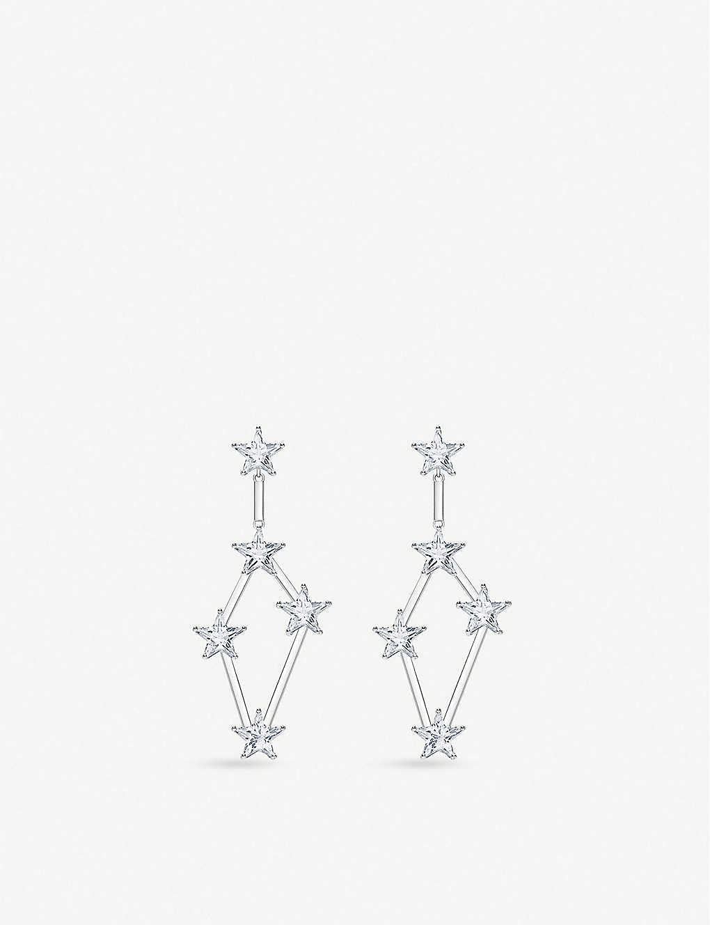 THOMAS SABO: Zirconia and sterling silver earrings