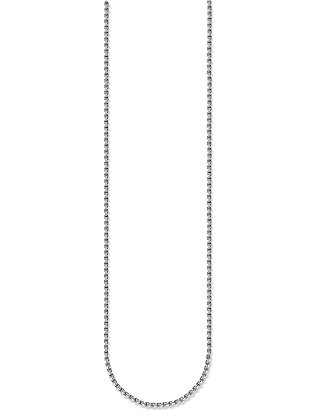 THOMAS SABO: Venezia sterling silver chain necklace