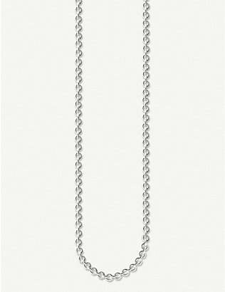 THOMAS SABO: Anchor Chain sterling silver necklace