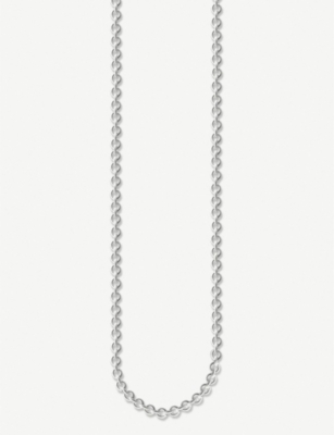 THOMAS SABO Anchor Chain sterling silver necklace