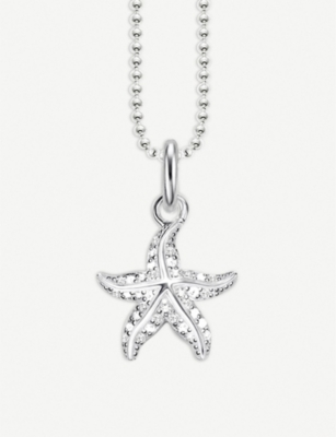 THOMAS SABO Glam & Soul Starfish sterling silver necklace