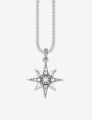 THOMAS SABO Royalty star sterling silver necklace