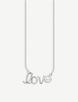 THOMAS SABO Love sterling silver necklace
