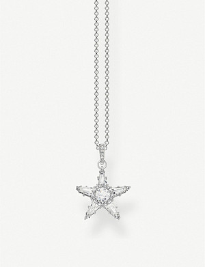 THOMAS SABO Magic Stars Star sterling silver necklace