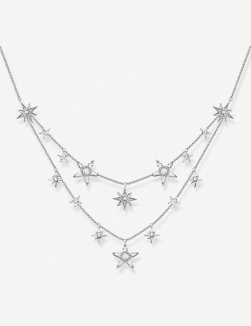 THOMAS SABO: Magic Stars Constellation sterling silver necklace