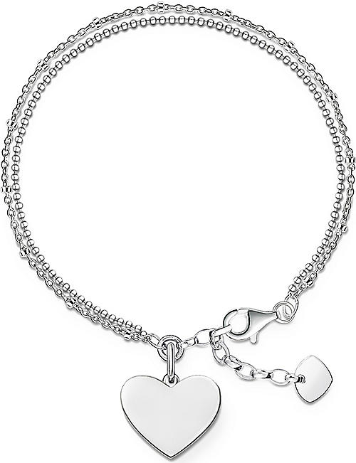THOMAS SABO Sterling silver Love Bridge bracelet