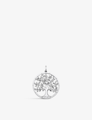 THOMAS SABO Tree of Life sterling silver and zirconia pendant