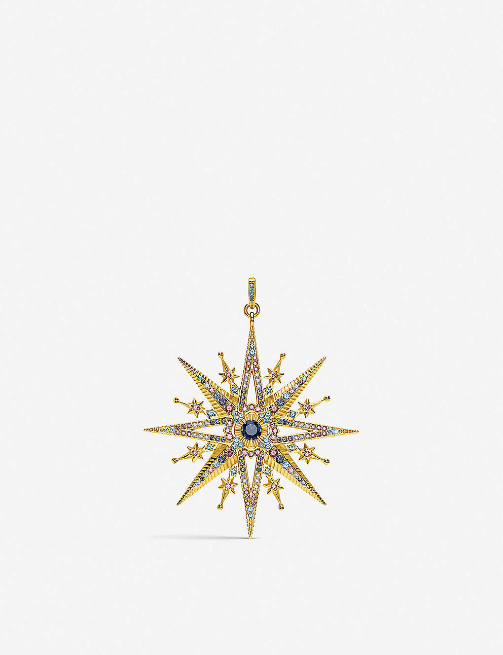 bc3586fcf THOMAS SABO - Kingdom of Dreams Royalty Star 18ct gold-plated ...