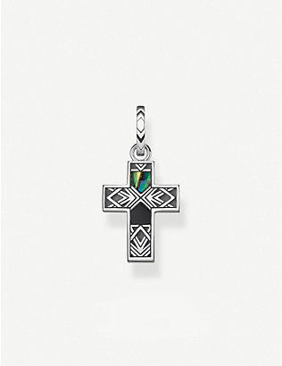 THOMAS SABO: Arizona Colours cross sterling silver pendant