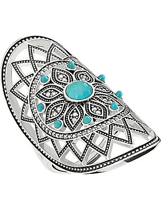 THOMAS SABO: Dreamcatcher sterling silver ring