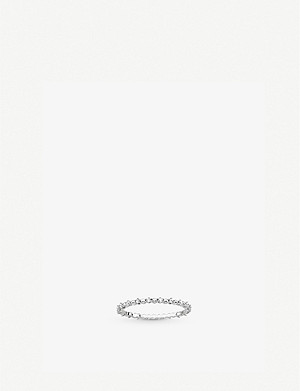 THOMAS SABO Dots sterling silver and zirconia ring