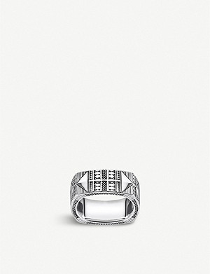 THOMAS SABO Engraved silver ring