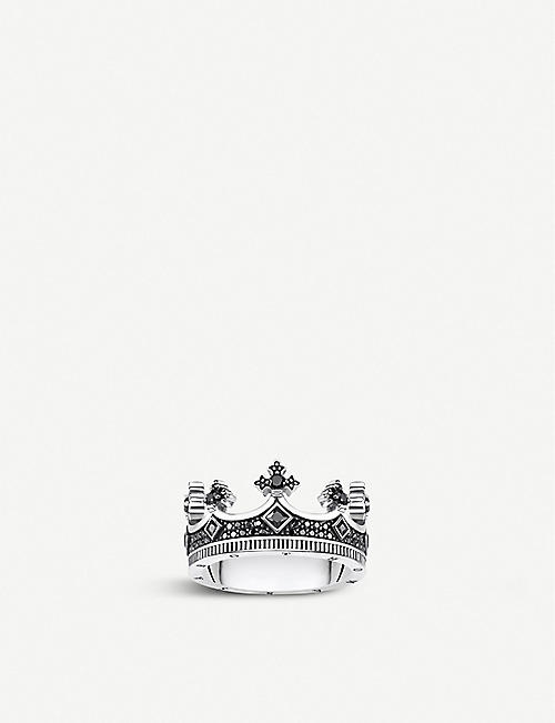 THOMAS SABO Rebel Kingdom crown silver ring