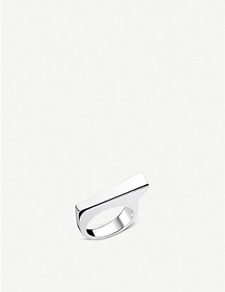 THOMAS SABO: Heritage Bar sterling silver classic ring