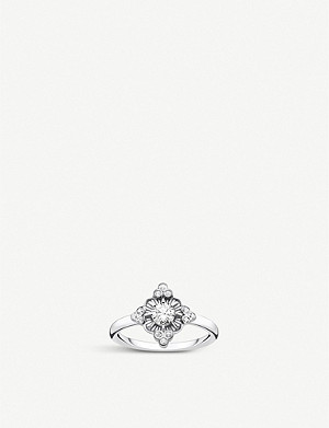 THOMAS SABO Kingdom of Dreams sterling silver Flower ring