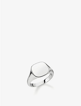 THOMAS SABO: Rebel At Heart sterling silver signet ring