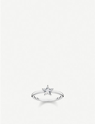 THOMAS SABO: Magic Stars sterling silver and zirconia ring