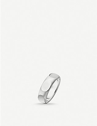 THOMAS SABO: Minimalist sterling silver ring