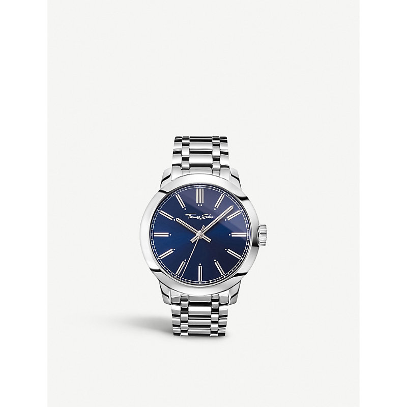 THOMAS SABO | Rebel At Heart Stainless Steel Watch | Goxip