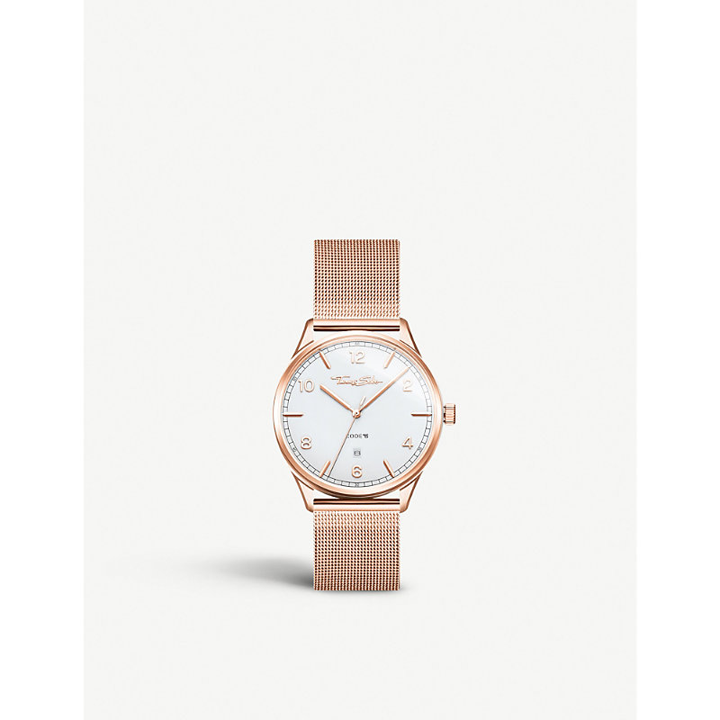 THOMAS SABO | WA0341265202 Code TS Stainless Steel Watch | Goxip