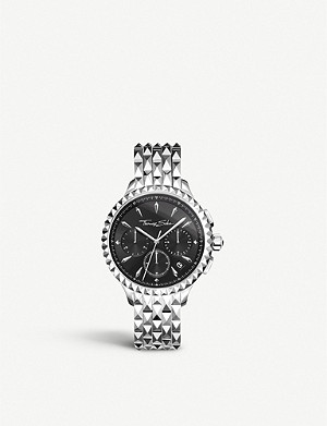 THOMAS SABO Rebel at Heart stainless steel chronograph watch