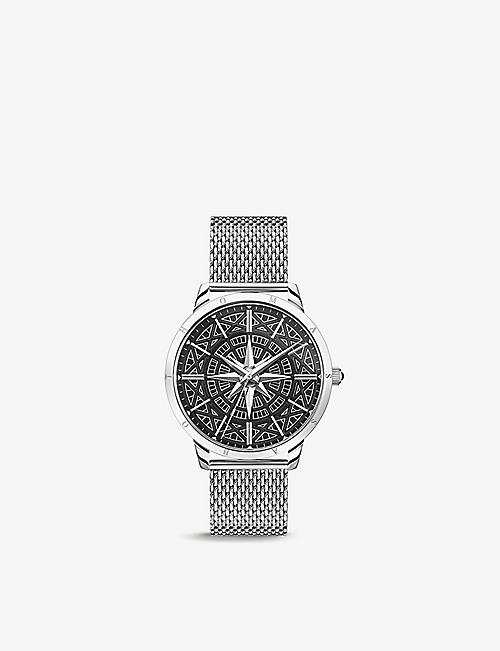 THOMAS SABO: WA0349-201-203 Rebel Spirit Compass stainless steel watch