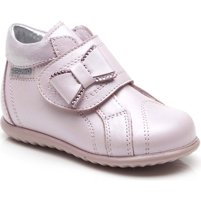 STEP2WO SHOES | STEP2WO Stint Leather Boots 6 Months-2 Years EUR 22 / 5 UK KIDS, Pink Leather | Goxip