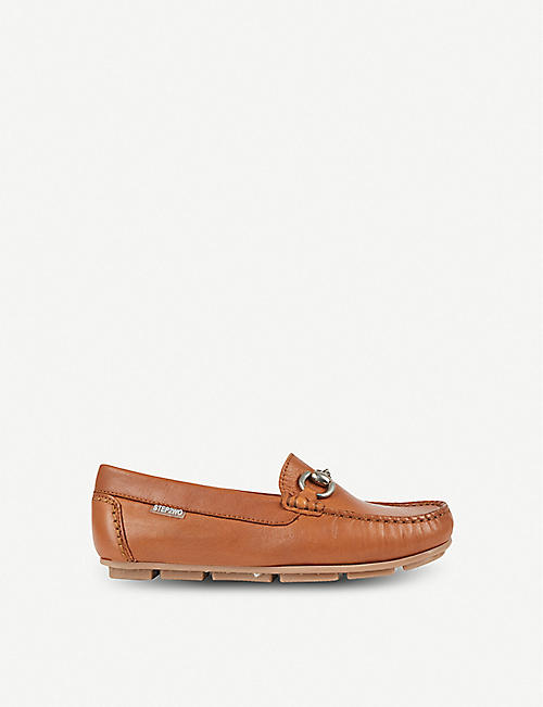 STEP2WO Charlie leather moccasins 7-12 years