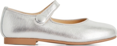 STEP2WO Charol metallic leather flats 4-9 years