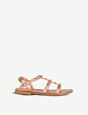 STEP2WO Sophia studded gladiator sandals