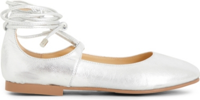 STEP2WO Sirena leather ballet flats 5-10 years