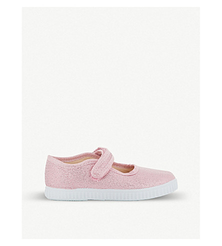 e6f42df80112 ... STEP2WO Greta glitter canvas mary jane shoes 1-7 years (Pink+glitter.  PreviousNext