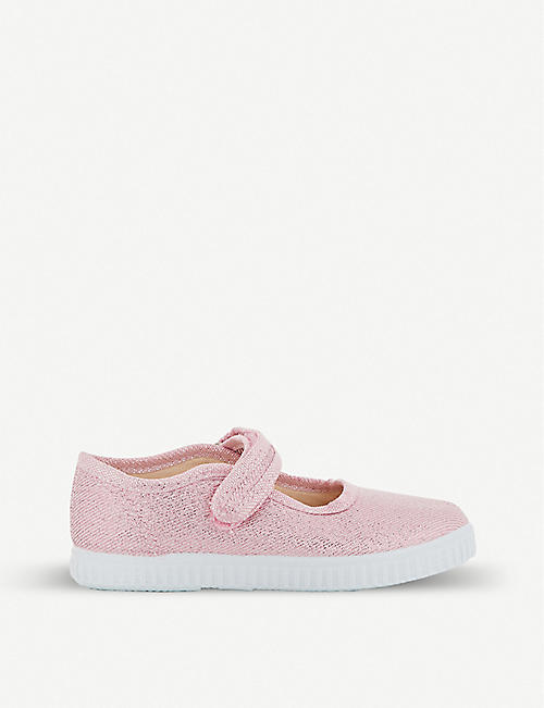 STEP2WO Greta glitter canvas mary jane shoes 1-7 years
