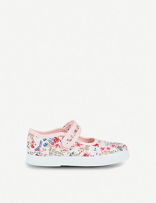 STEP2WO Rosita floral-print canvas flats 1-7 years