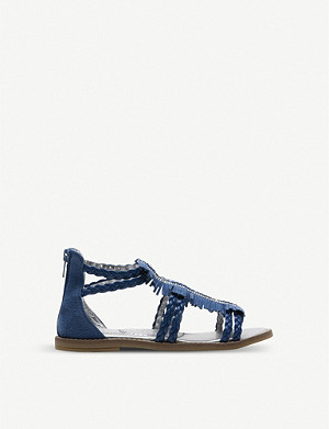 STEP2WO Tayen fringed suede sandals