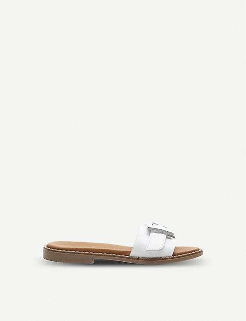 a1878901e7d64 STEP2WO Samira leather sliders