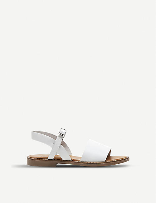 STEP2WO Katie leather slingback sandals 7-11 years