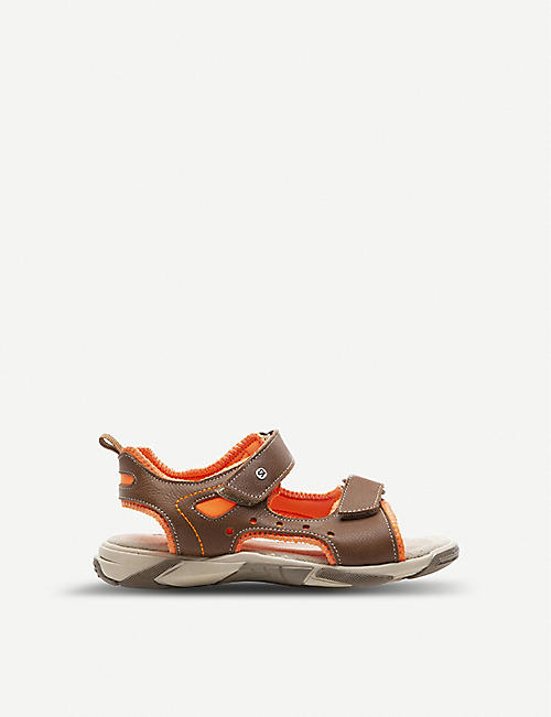 7a8ca75d2a00 STEP2WO Max leather sandals 3-5 years