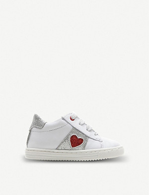 STEP2WO Glitter heart leather trainers 1-9 years