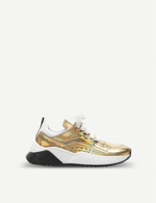 STEP2WO Milly metallic iridescent trainers 6-10 years