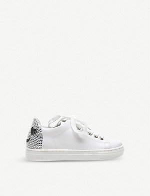 STEP2WO Sparkle diamante-embellished trainers 6-10 years
