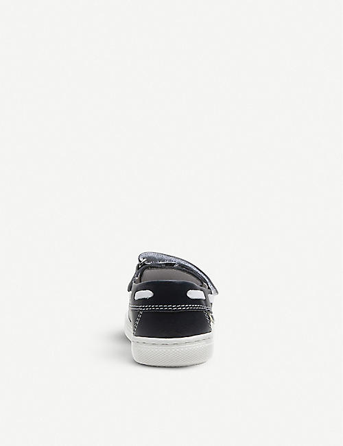 STEP2WO Boat leather shoes 2–5 years