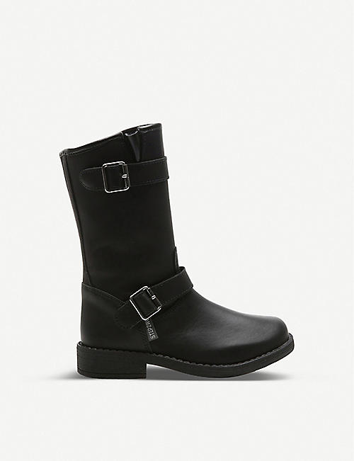 STEP2WO Midi Flavia leather boots 6-8 years