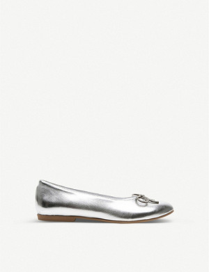 STEP2WO Philo metallic ballerina courts 7-12 years