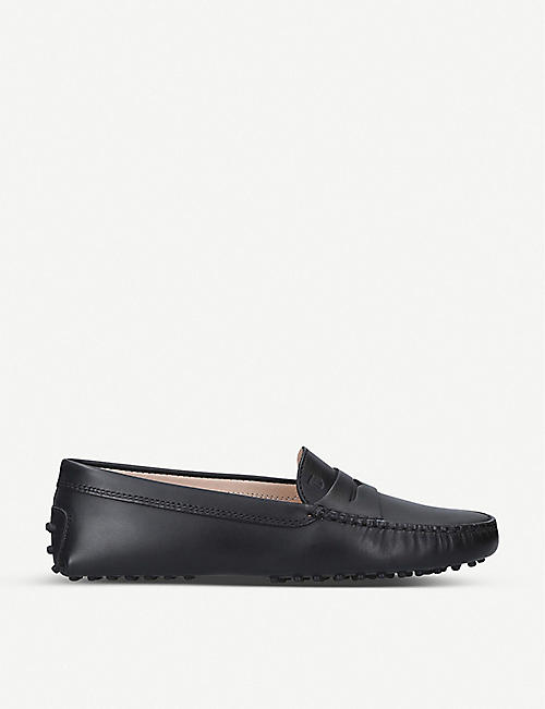 TODS Mocassino leather driving shoes