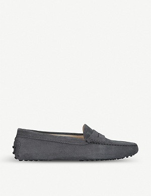 TODS Mocassino suede driving shoes