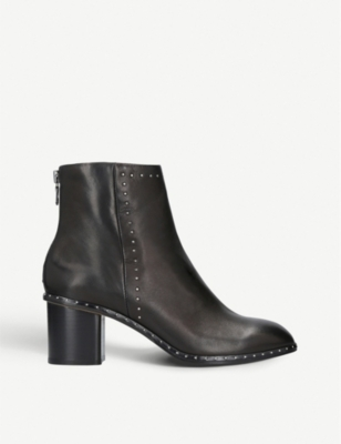 RAG AND BONE Willow micro-stud leather heeled ankle boots
