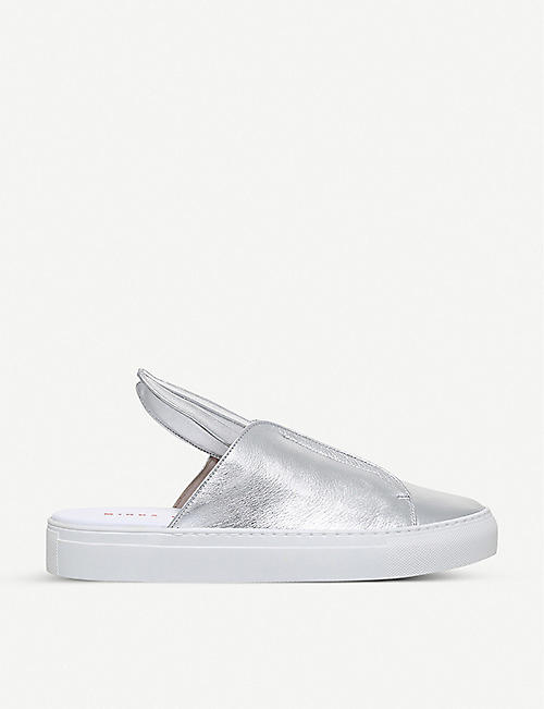MINNA PARIKKA Bunny Slip leather trainers