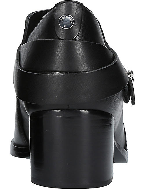 RAG AND BONE Harley leather ankle boots