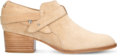 RAG AND BONE Harley suede ankle boots